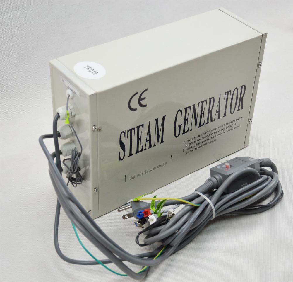 Parní generátor, vyvíječ páry pro saunu TR-019 3kW - set pro vlastní montáž