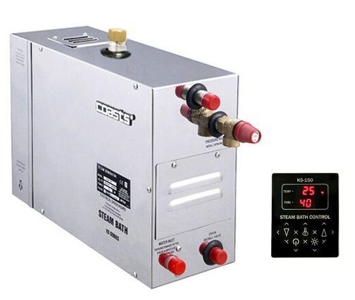 Parní generátor, vyvíječ páry pro sauny KSA-90 s ovládacím panelem KS-150