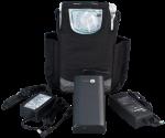 Přenosný kyslíkový koncentrátor s baterií EASY PULSE 5L, 95 %
